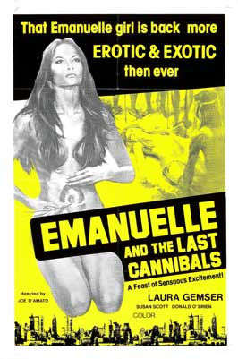 Emanuelle e gli ultimi cannibali - 11 x 17 Movie Poster - French Style A