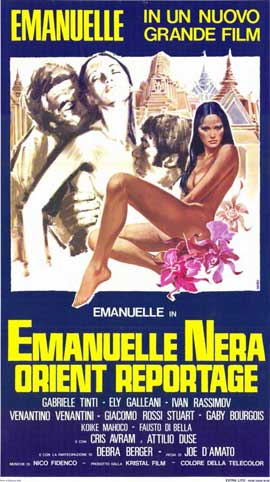 Emanuelle in Bangkok - 11 x 17 Movie Poster - Italian Style A