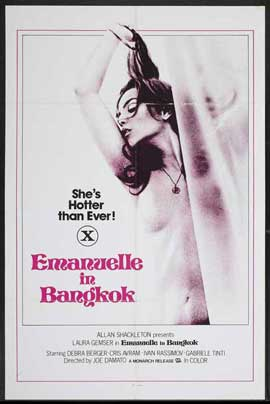 Emanuelle in Bangkok - 27 x 40 Movie Poster - Style A