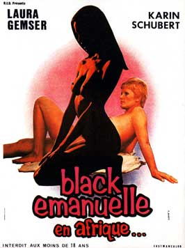 Emanuelle nera - 11 x 17 Movie Poster - French Style A