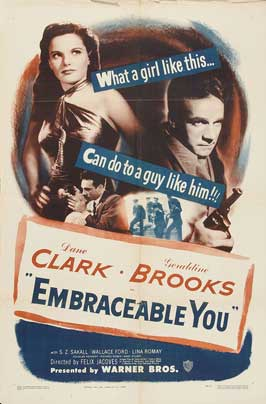Embraceable You - 11 x 17 Movie Poster - Style A