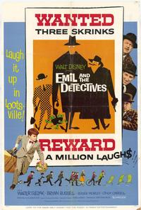Emil and the Detectives - 11 x 17 Movie Poster - Style B