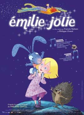 Emilie jolie - 11 x 17 Movie Poster - French Style A
