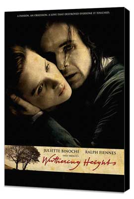 Emily Bront�'s Wuthering Heights - 11 x 17 Movie Poster - UK Style A - Museum Wrapped Canvas