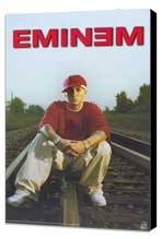 Eminem - 11 x 17 Music Poster - Style B - Museum Wrapped Canvas