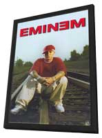 Eminem - 11 x 17 Music Poster - Style B - in Deluxe Wood Frame