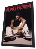 Eminem - 11 x 17 Music Poster - Style C - in Deluxe Wood Frame