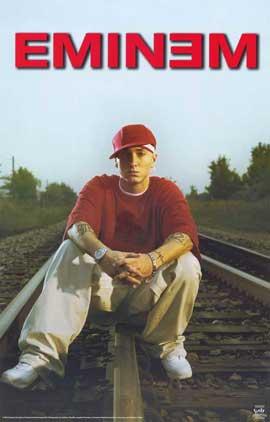 Eminem - 11 x 17 Music Poster - Style B
