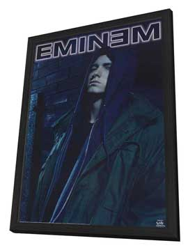 Eminem - 11 x 17 Music Poster - Style A - in Deluxe Wood Frame