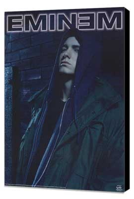Eminem - 11 x 17 Music Poster - Style A - Museum Wrapped Canvas