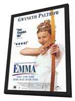 Emma - 11 x 17 Movie Poster - Style B - in Deluxe Wood Frame