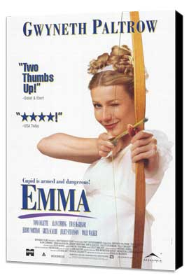 Emma - 11 x 17 Movie Poster - Style B - Museum Wrapped Canvas