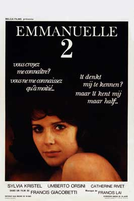 Emmanuelle 2 - 27 x 40 Movie Poster - Belgian Style A