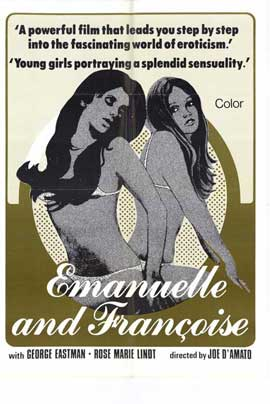 Emmanuelle and Francois - 11 x 17 Movie Poster - Style A