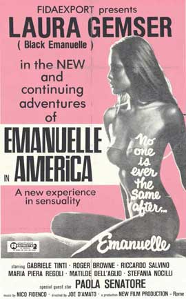 Emmanuelle in America - 11 x 17 Movie Poster - Style B