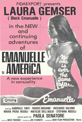 Emmanuelle in America - 27 x 40 Movie Poster - Style B