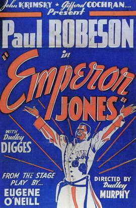 Emperor Jones - 11 x 17 Movie Poster - Style B