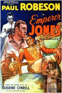 Emperor Jones - 43 x 62 Movie Poster - Bus Shelter Style A