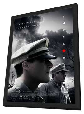 Emperor - 27 x 40 Movie Poster - Style A - in Deluxe Wood Frame