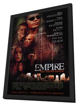 Empire - 27 x 40 Movie Poster - Style A - in Deluxe Wood Frame