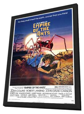 Empire of the Ants - 11 x 17 Movie Poster - Style A - in Deluxe Wood Frame