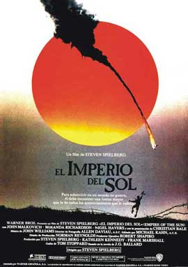 Empire of the Sun - 27 x 40 Movie Poster - Spanish Style A