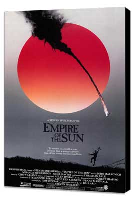 Empire of the Sun - 27 x 40 Movie Poster - Style A - Museum Wrapped Canvas