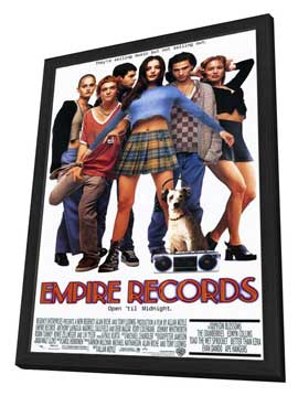 Empire Records - 11 x 17 Movie Poster - Style A - in Deluxe Wood Frame
