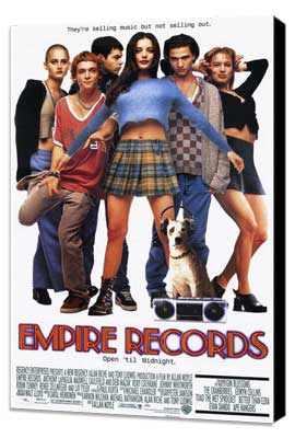 Empire Records - 11 x 17 Movie Poster - Style A - Museum Wrapped Canvas