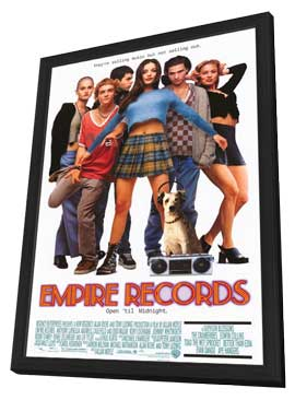Empire Records - 27 x 40 Movie Poster - Style A - in Deluxe Wood Frame
