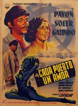 En cada puerto un amor - 11 x 17 Movie Poster - Spanish Style A