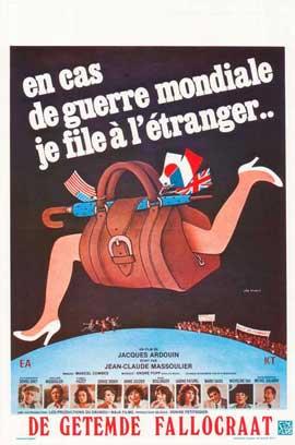En cas de guerre mondiale, je file � l'�tranger - 11 x 17 Movie Poster - Belgian Style A