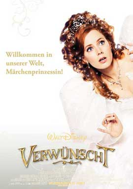 Enchanted - 27 x 40 Movie Poster - German Style D