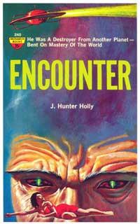 Encounter - 11 x 17 Retro Book Cover Poster