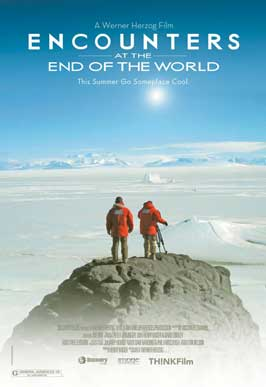 Encounters at the End of the World - 11 x 17 Movie Poster - Style A