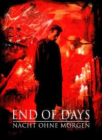 End of Days - 11 x 17 Movie Poster - German Style A