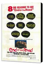 End of the Road - 27 x 40 Movie Poster - Style A - Museum Wrapped Canvas