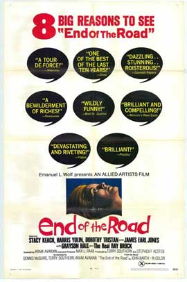 End of the Road - 11 x 17 Movie Poster - Style A