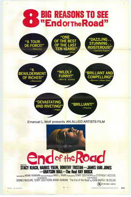 End of the Road - 27 x 40 Movie Poster - Style A