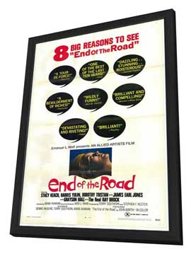 End of the Road - 27 x 40 Movie Poster - Style A - in Deluxe Wood Frame