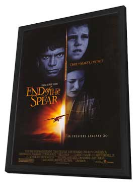 End of the Spear - 27 x 40 Movie Poster - Style A - in Deluxe Wood Frame