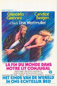 End of the World in Our Usual Bed in a Night Full of Rain - 27 x 40 Movie Poster - Belgian Style A