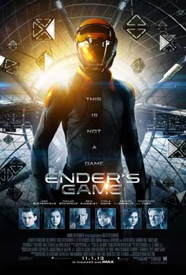 Ender's Game - 11 x 17 Movie Poster - Style E