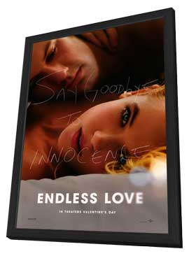 Endless Love - 27 x 40 Movie Poster - Style A - in Deluxe Wood Frame