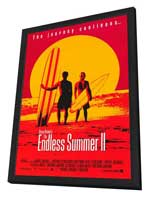 The Endless Summer 2 - 27 x 40 Movie Poster - Style A - in Deluxe Wood Frame