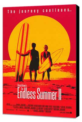 The Endless Summer 2 - 11 x 17 Movie Poster - Style B - Museum Wrapped Canvas