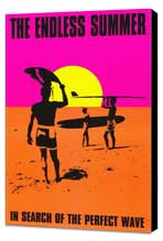 The Endless Summer - 11 x 17 Movie Poster - Style E - Museum Wrapped Canvas