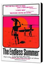 The Endless Summer - 27 x 40 Movie Poster - Style A - Museum Wrapped Canvas