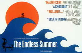 The Endless Summer - 11 x 17 Movie Poster - Style B