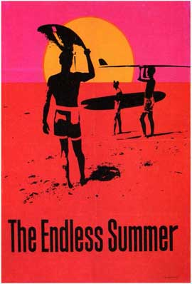 The Endless Summer - 11 x 17 Movie Poster - Style D